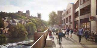 Artists impression of the new shopping centre