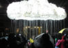 Durham Lumiere 2017 The Rain Cloud Installation