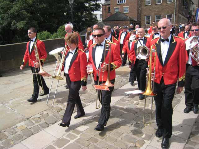 Durham Brass Band League Miners Gala 2007 - geograph.org.uk