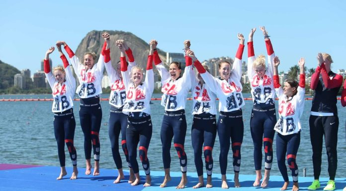 British Women's Eight rowing medalists 2016 - worldrowing.com