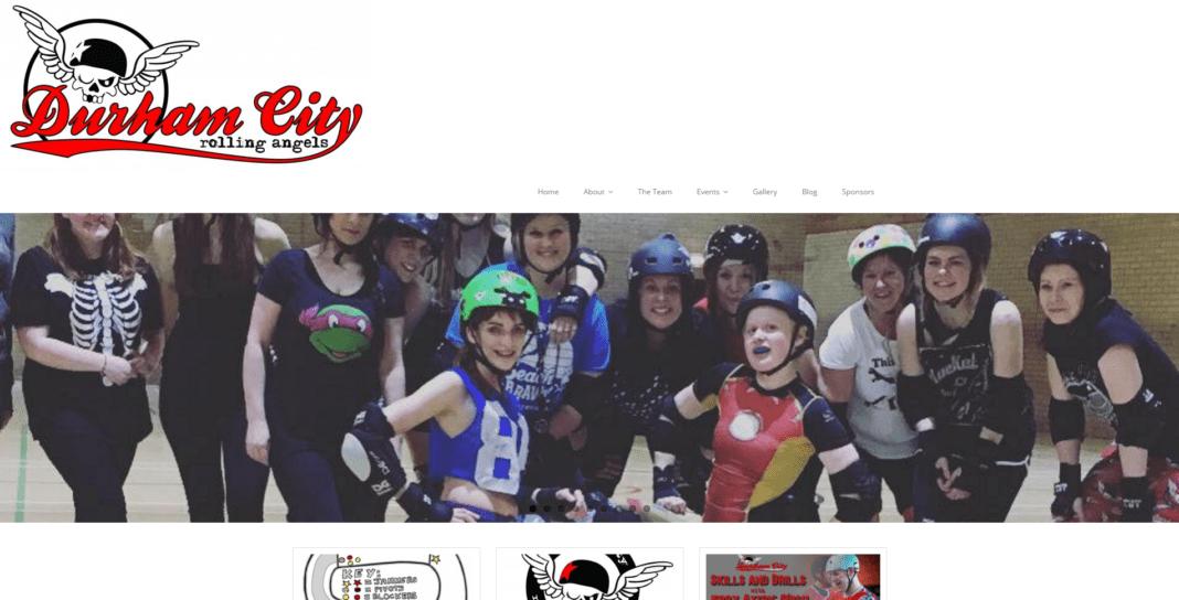 Durham City Rolling Angels' website - www.durhamcityrollingangels.co.uk