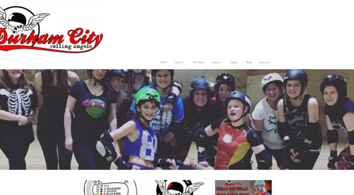 Durham City Rolling Angels' website - www.durhamcityrollingangels.co.uk