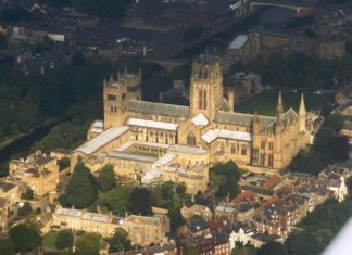Durham Cathedral and Castle - commons.wikimedia.org