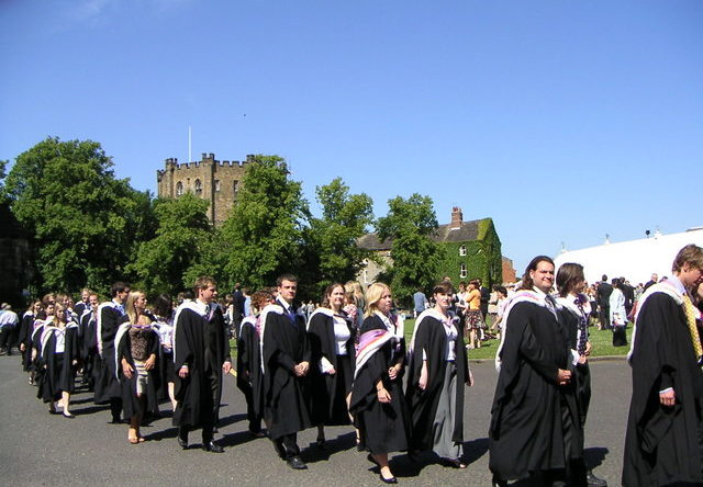 Durham University Graduation Ceremony
