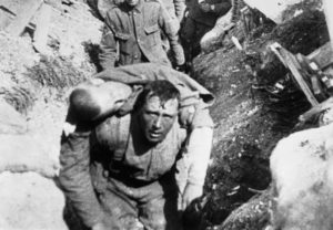 Gone but not Forgotten - The Battle of the Somme - A Soldier Carrying Friend's Body - sco.wikipedia.org
