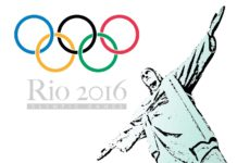 Olympic Games in Rio de Janeiro graphics