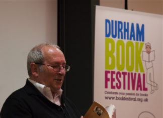 Sir Arnold Wesker at Durham Book Festival - flickr.com
