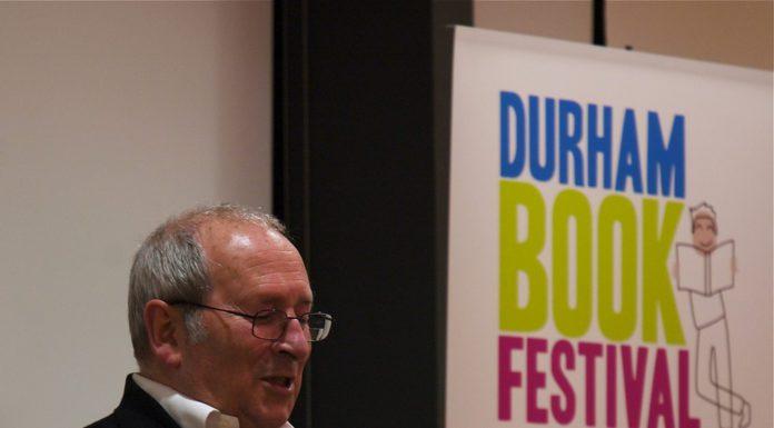 Sir Arnold Wesker at Durham Book Festival - flickr.com