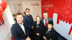 Cathedral Room Opens at Durham Station