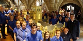 Durham Cathedral in Lego Wins Two Awards and May Win Another