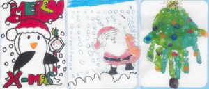Children in Care Design Christmas Cards for Council