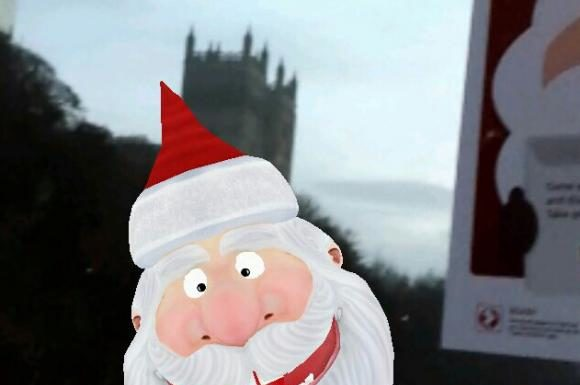 Hunt for Christmas Characters in Durham's Streets with New App