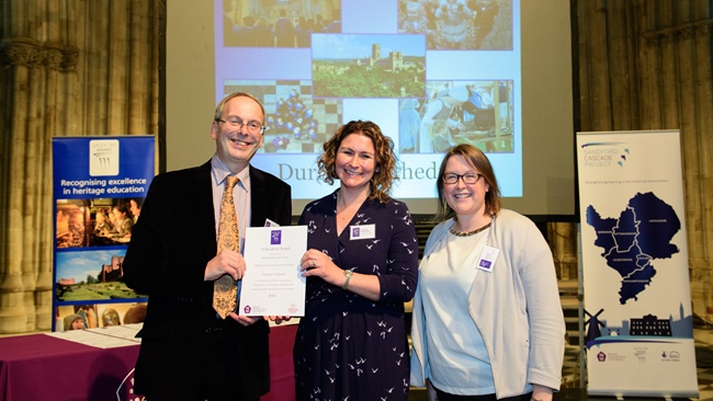 Durham Cathedral Education Team Wins Sandford Award