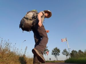 Man Walks from Northern England to Poland for Charity