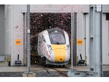 County Durham's Hitachi Factory Rolls out First Trains