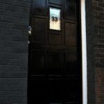 The speakeasy's door