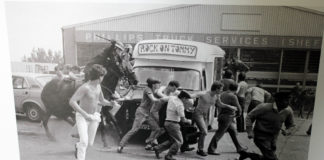Footage of Miners' Strike Concert Used in Student Project
