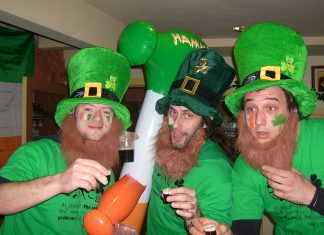 The World Turns Green for St Patrick's Day
