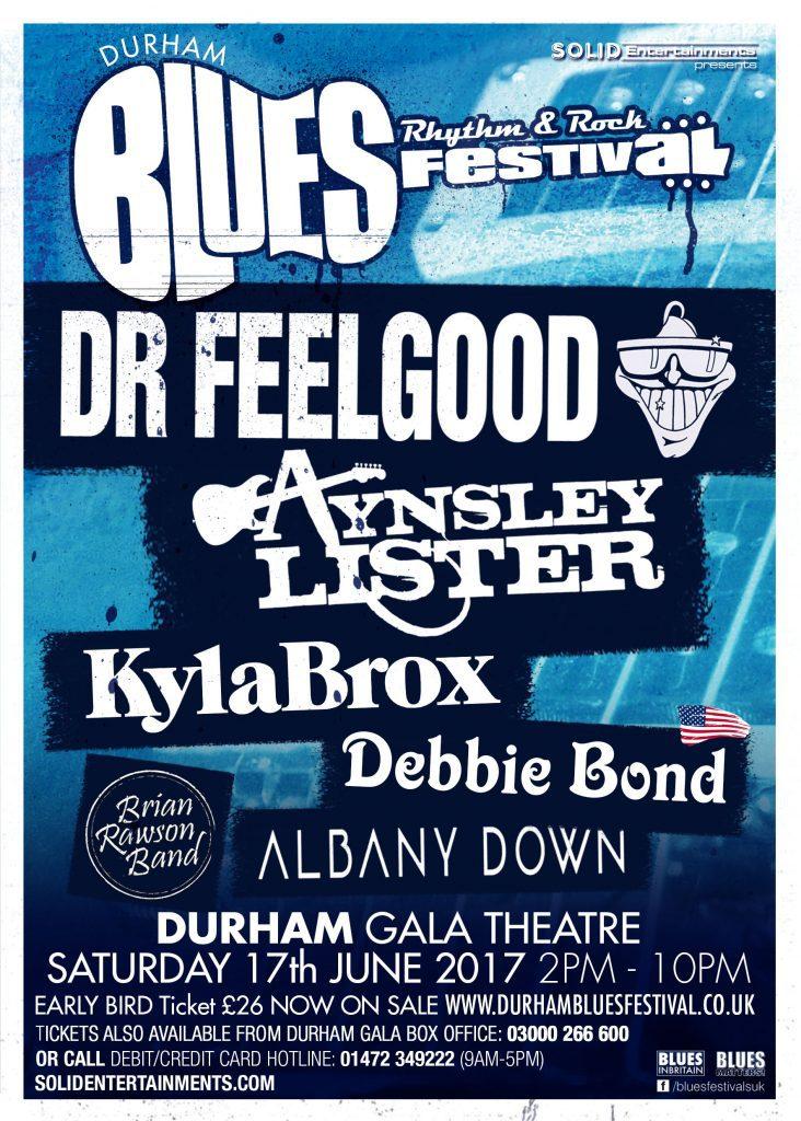Durham Blues, Rhythm & Rock Festival