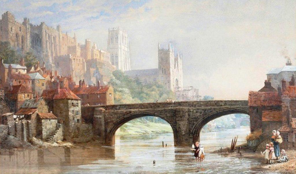 Strange Occurrence at Durham - Framwellgate Bridge