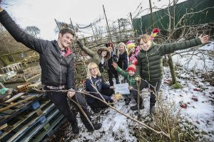 Escomb Primary gardening club