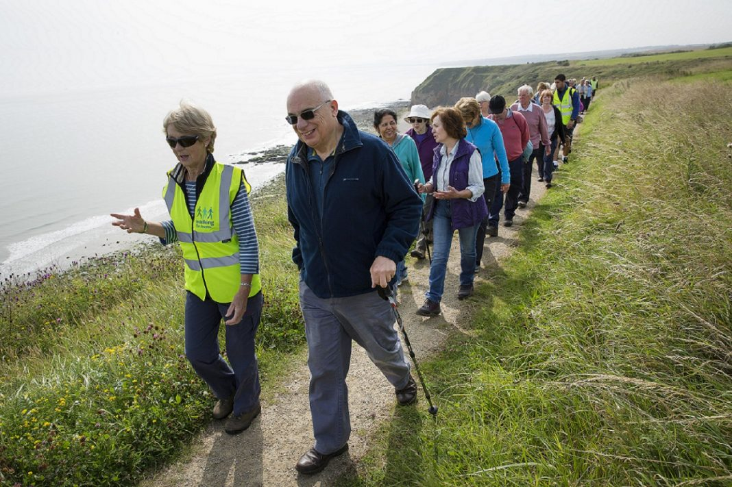 Walking for Health, Easington Colliery. Photo: John