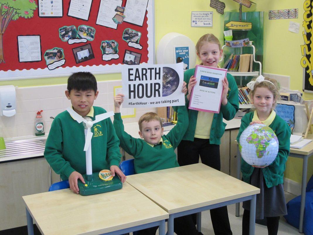Esh Winning Earth Hour