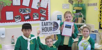 Esh Winning Earth Hour