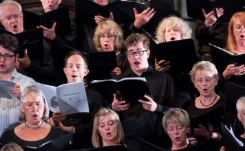 job no 1001 Miners Hymns Performance 16 July 2016 at Durham Cathedral