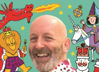 Nick Sharratt Royal Drawalong