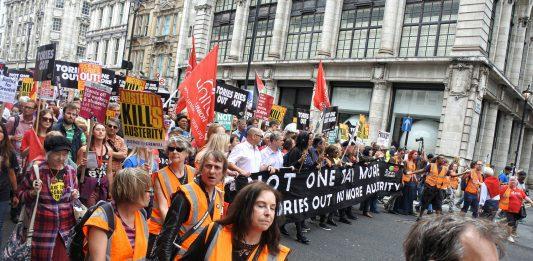 austerity demo