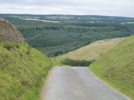 road on moors