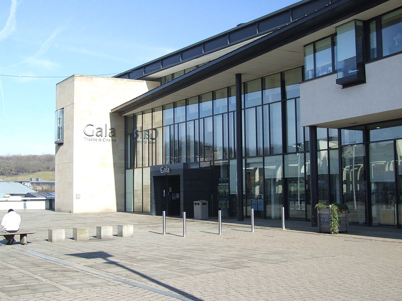 Durham Gala Theatre - Image Courtesy of Creative Commons https://commons.wikimedia.org/wiki/File:Durham_Gala_Theatre_2121.JPG