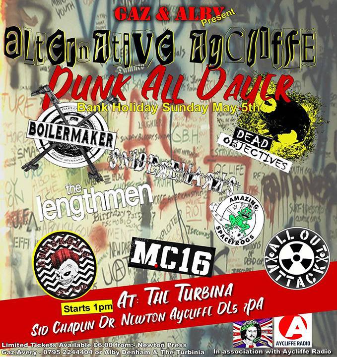 punk poster a4