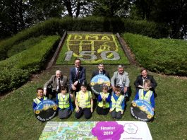 Durham in Bloom - Gilesgate roundabout 2