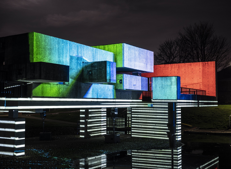 Apollo Pavilion light installation