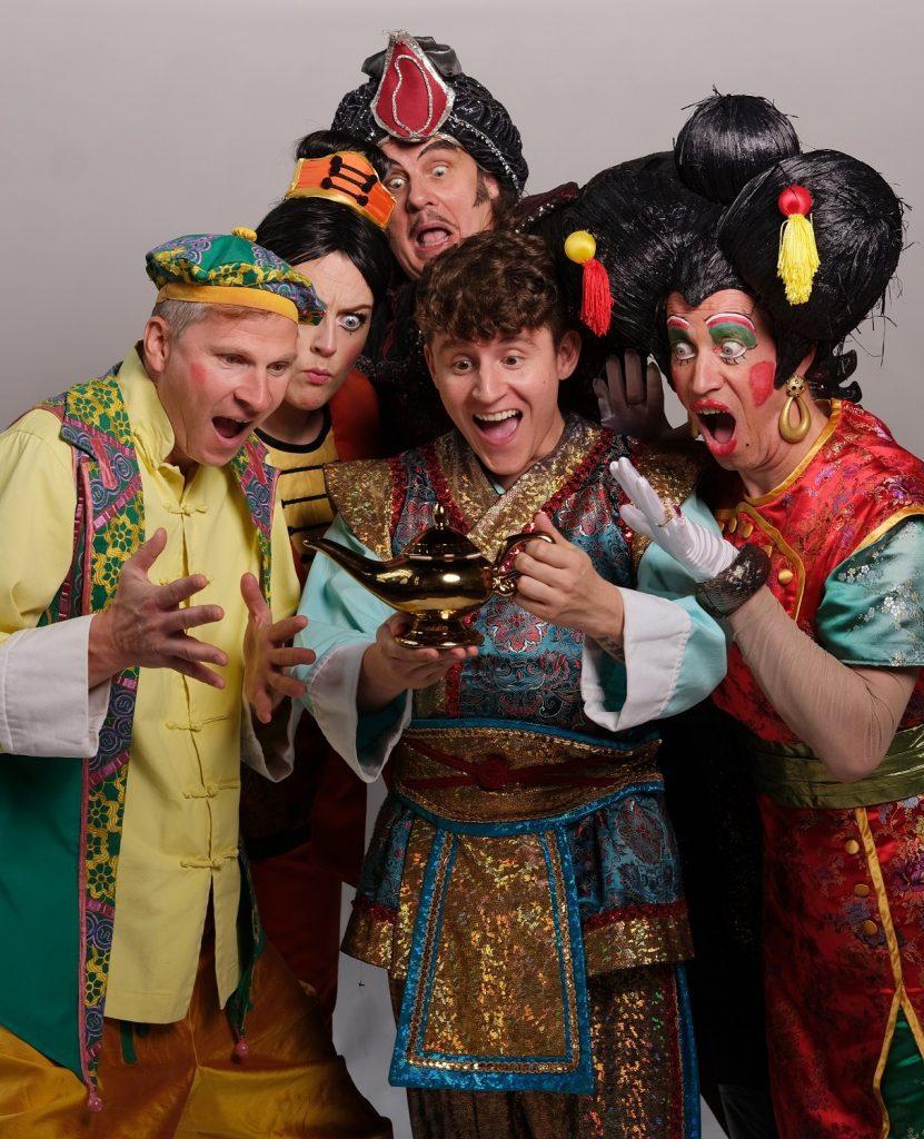 Aladdin the panto 1