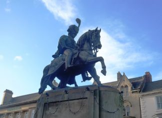 marquis of londonderry Durham Market Place statue
