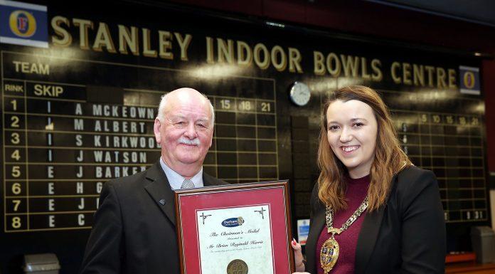 Brian Harris Chairmans medal