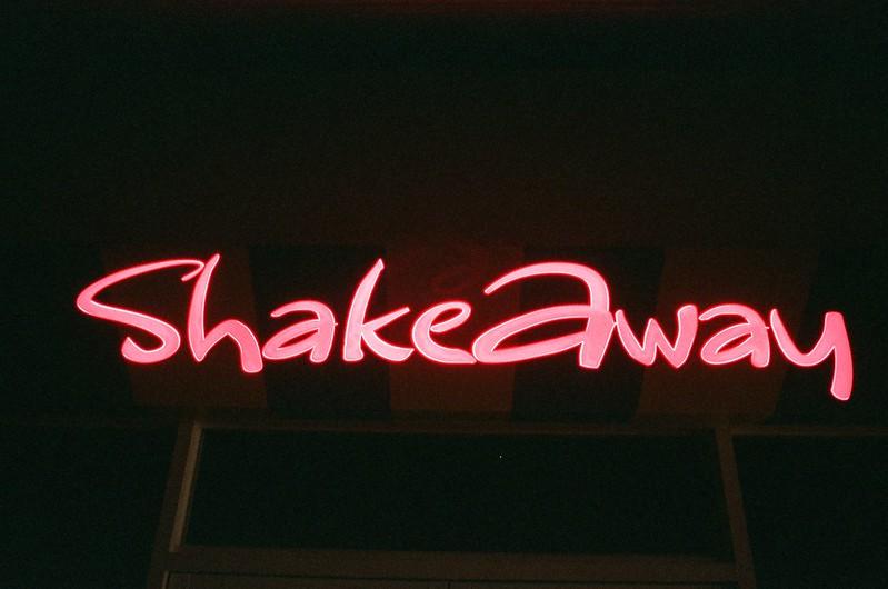 Shake Away The Shakeaway Menu