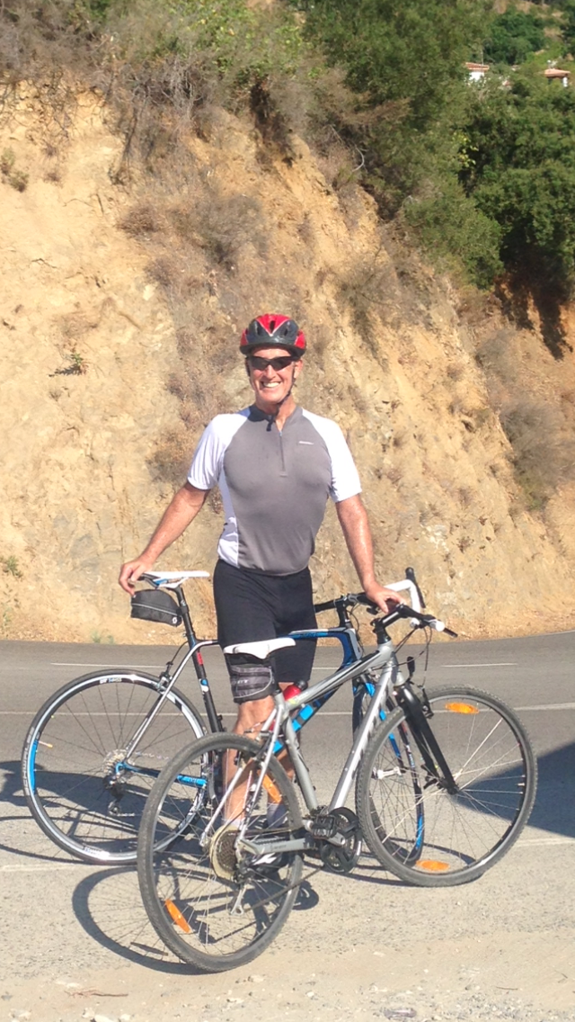 67-year old local hopes to complete 1,500-mile bike ride from Newcastle to Marbella after lifesaving heart surgery