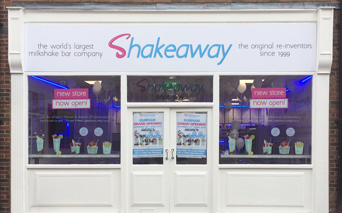 Shake Away The Shakeaway Menu