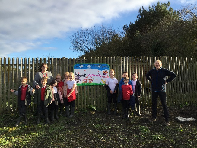 A Love For Gardening Among Children In County Durham