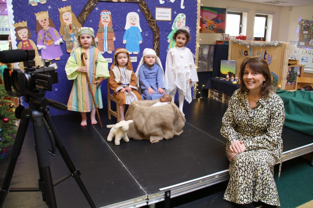 Durham High School won't let Covid-19 spoil its traditional Christmas performances