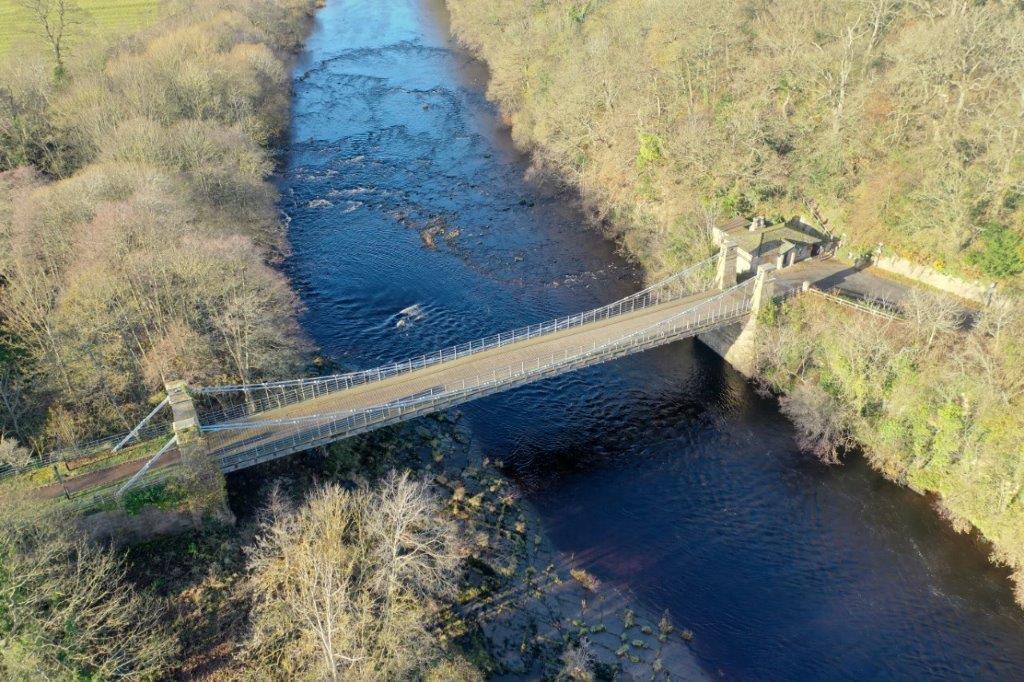 Durham's Whorlton Bridge To Close Until Further Notice