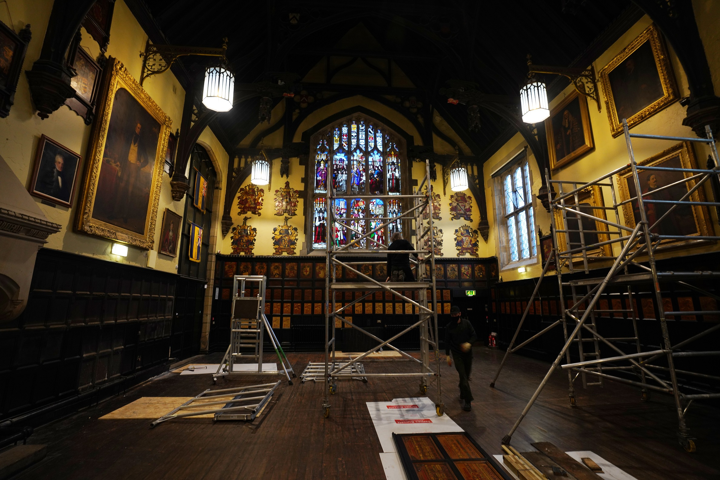 Work Being Undertaken At Durham Town Hall To Preserve Its History