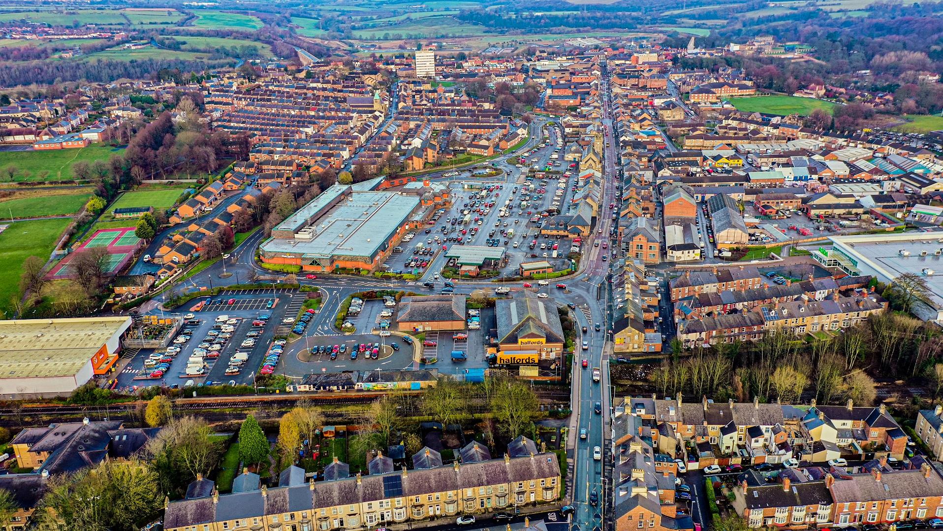 Council Bids For £46.8 Million Bid To Restore Historic Town