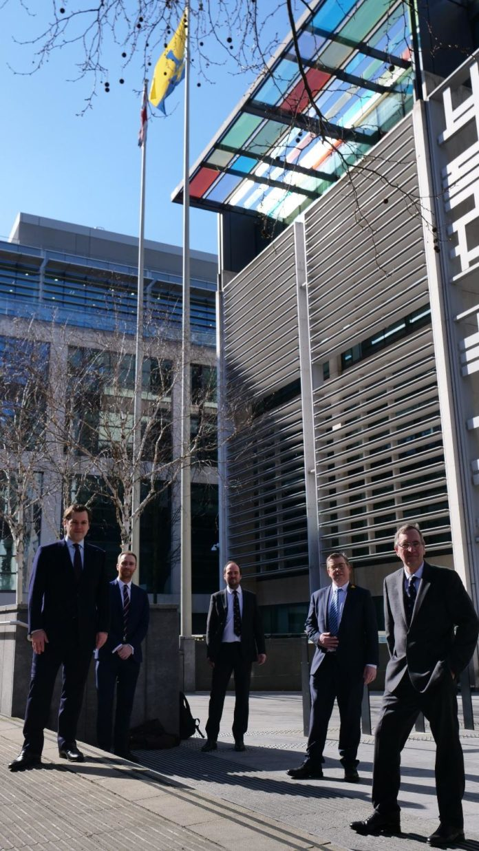 County MPs Join Communities Secretary In Raising The Flag For County Durham Day