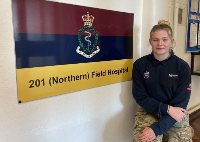 Military Student Debra Bell Prepares To Become A Frontline Army Medic