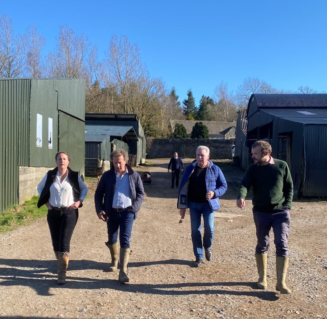 Farming Minister Hosted By North West Durham MP Richard Holden